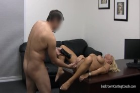 Кастинг культуристки сексом